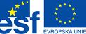 Evropsk� soci�ln� fond EU